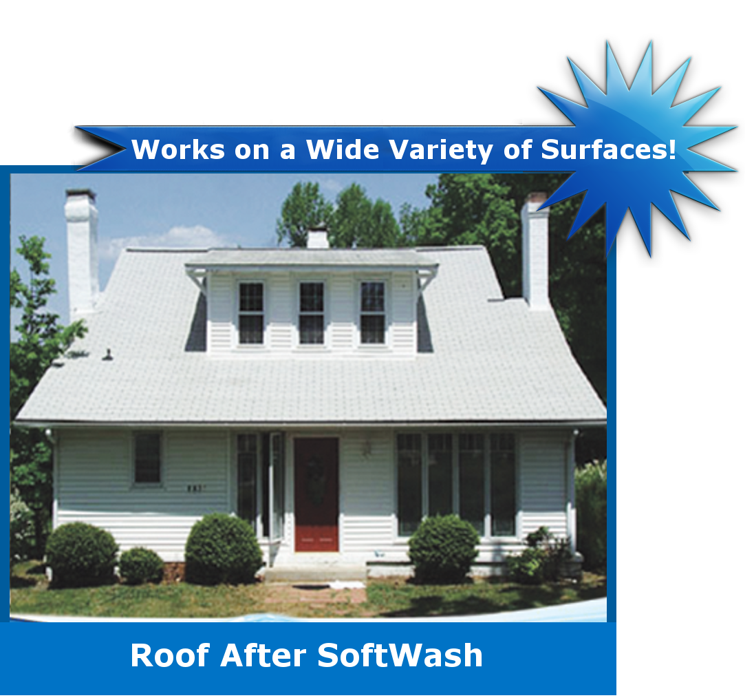 Stretch Cleaningroof Aafter Stretch Cleaning