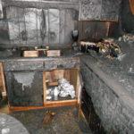 smoke damage kitchen